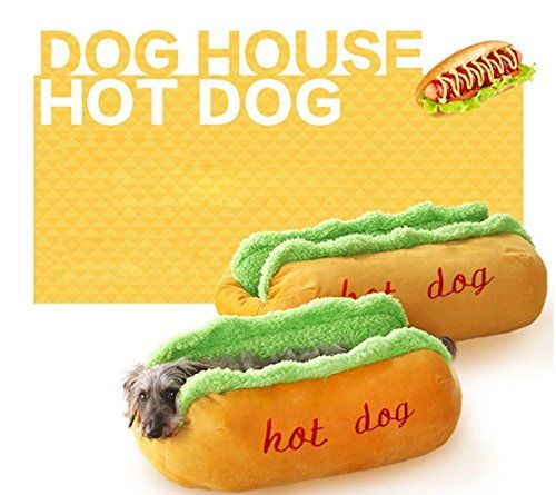 Hot Dog Bed Pet Cute Dog Beds For Small Dogs Puppy Warm C...