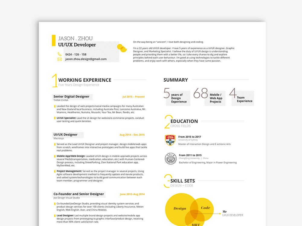 user experience designer resume templates \u2013 dadvail