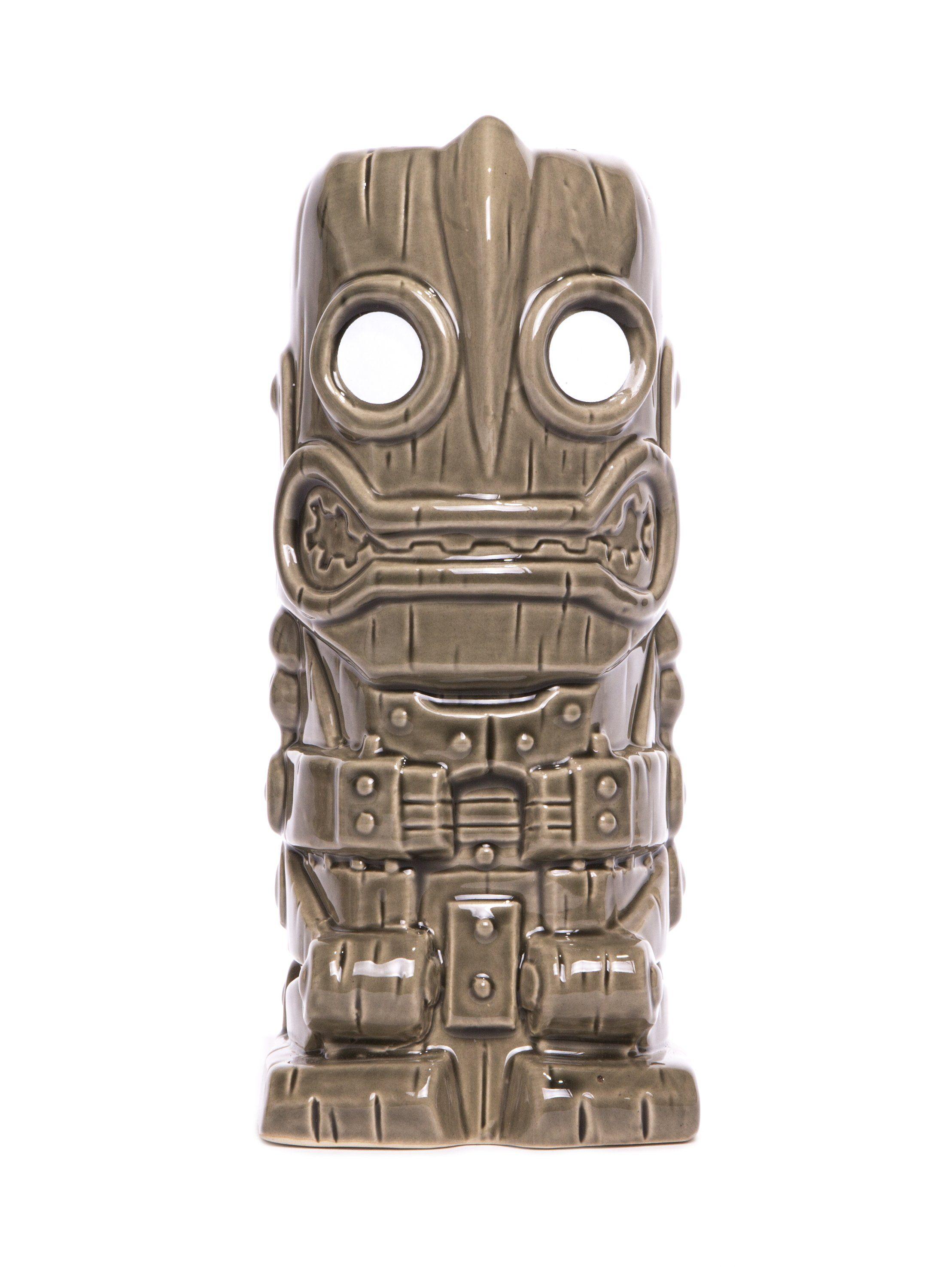 Iron Giant Ceramic Tiki Mug (Grey)