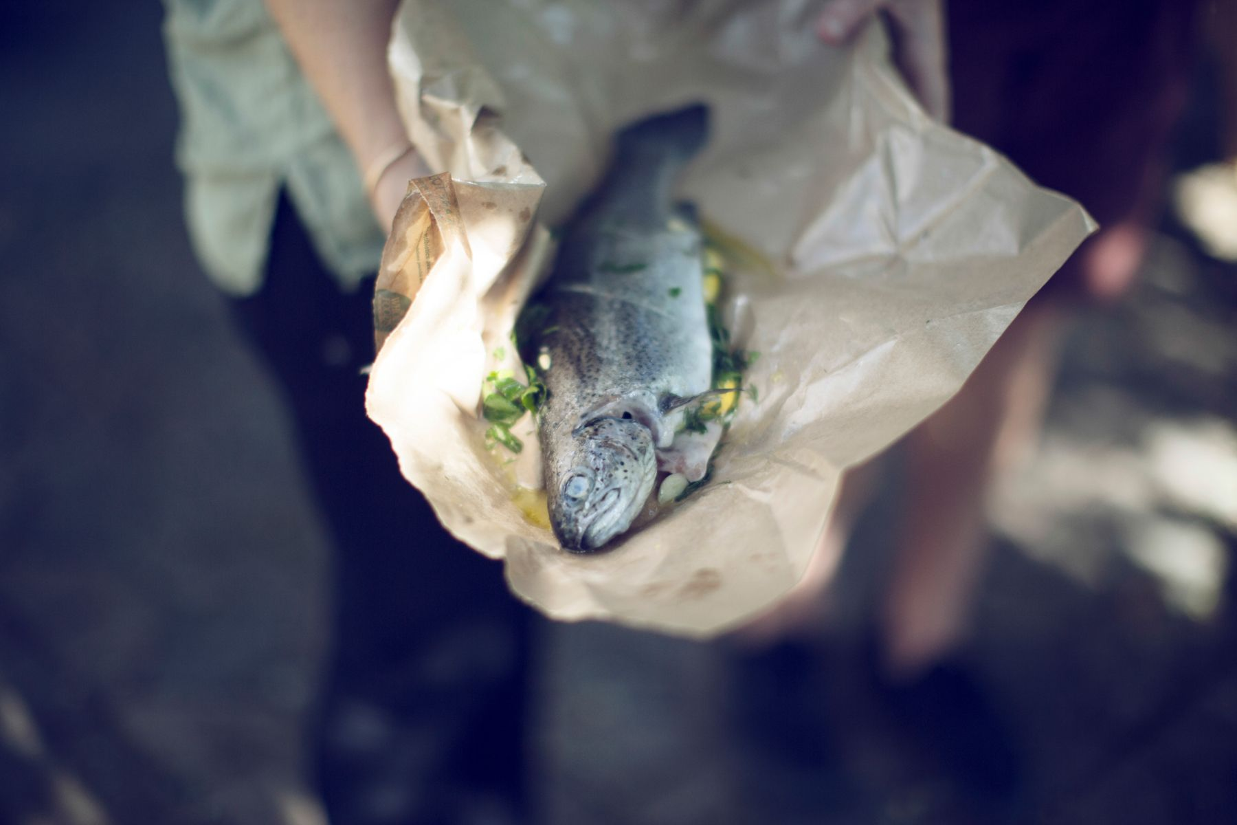 Recipes: Grilled Whole Fish & Cherry Tomatoes Kinfolk