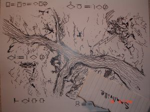 Smallville Map To The Stones Of Knowledge Kawatche Caves