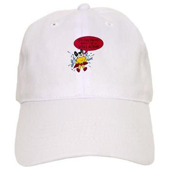 "Mighty Mouse Chains Villain Cap -- #MightyMouse says, ""Oil Can Harry, you're a villain!"""