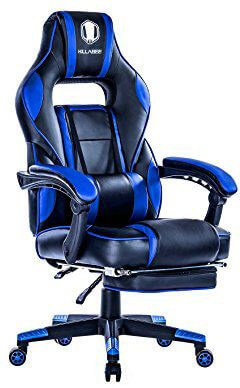 KILLABEE Racing PC Gaming Chair Ergonomic Reclining Office Desk Chair