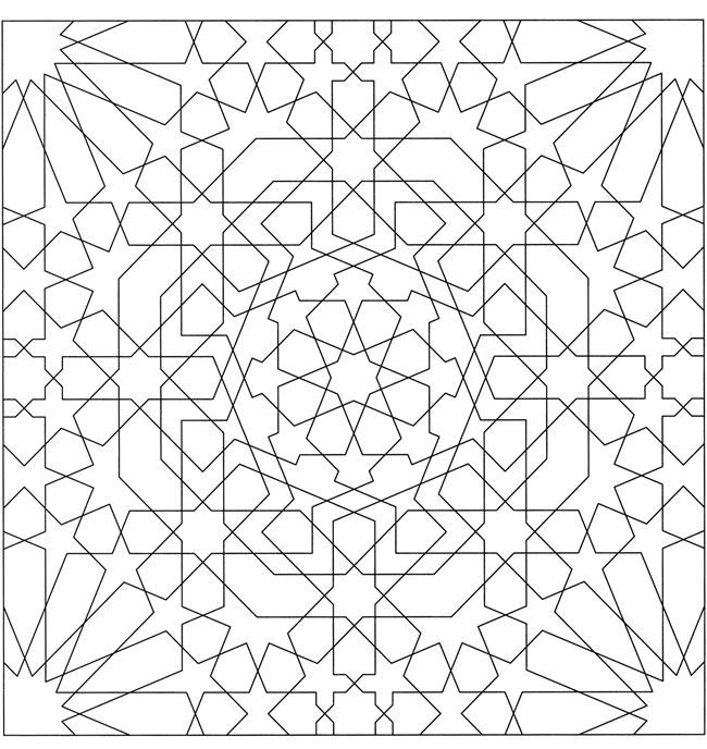 Alhambra coloring pages ~ alhambra designs coloring pages - Google Search ...