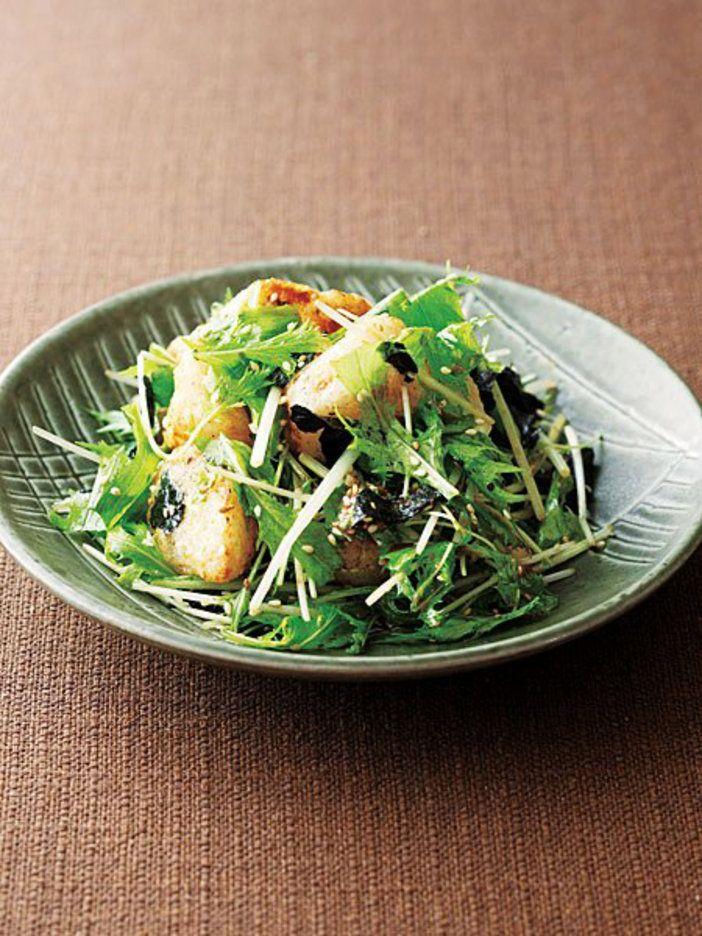 揚げた長芋の香ばしさに、 わさびの風味がピリリ!|『ELLE a table』はおしゃれで簡単なレシピが満載!