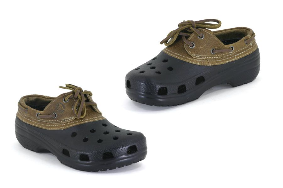 2413bf6b5 Crocs - Islander - Black   Chocolate Anti-Microbial and Odor Resistant  Slip-Resistant