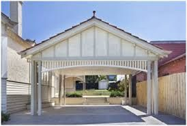 Image result for garage door back fence carport garage carport