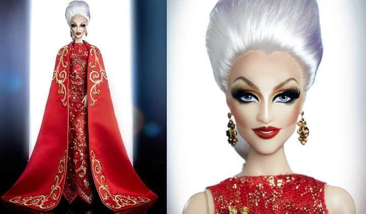 Olha eu virando Barbie nas maos do @adeevan  by dragchloe