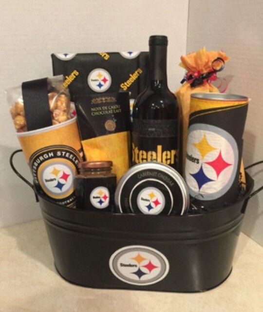 dabfc6b2 Steelers Gift Basket   Creative Mind Baskets & Edible Arrangement ...