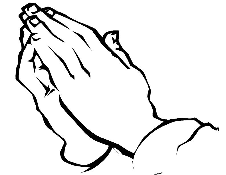 praying hands template printable hands coloring pages free printable download - Praying Hands Coloring Pages