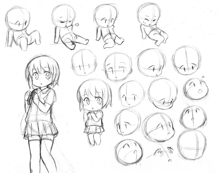 Http Catplus Deviantart Com Anime Drawings Tutorials Chibi Drawings Drawings