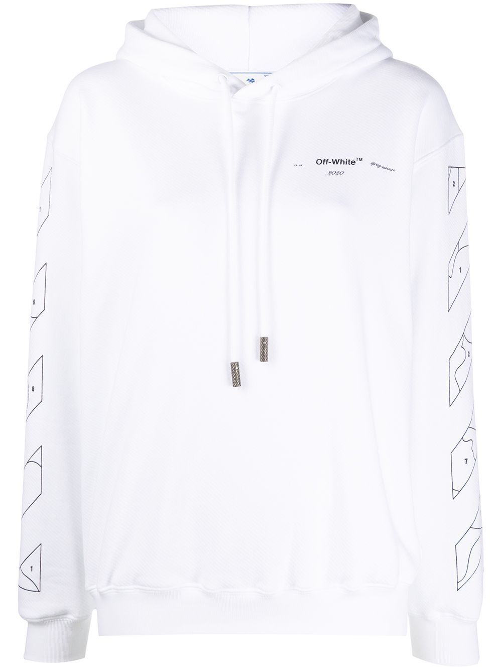 Off White Puzzle Arrows Hoodie Farfetch Off White Hoodie Hoodie Aesthetic Off White [ 1334 x 1000 Pixel ]