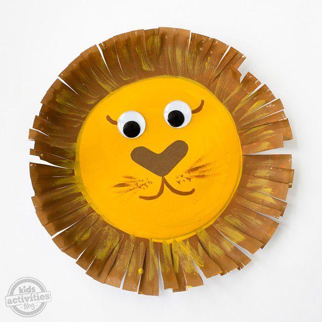 Paper Plate Lion Craft (Skill Builder Craft Project) | Paper plate projects | Pinterest | Lion craft Lions and Summer crafts & Paper Plate Lion Craft (Skill Builder Craft Project) | Paper plate ...