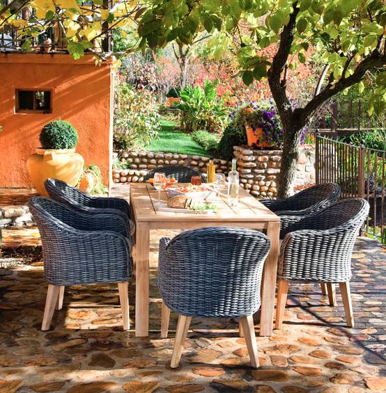 A poner lindo el patio que viene el buen tiempo | Decoración
