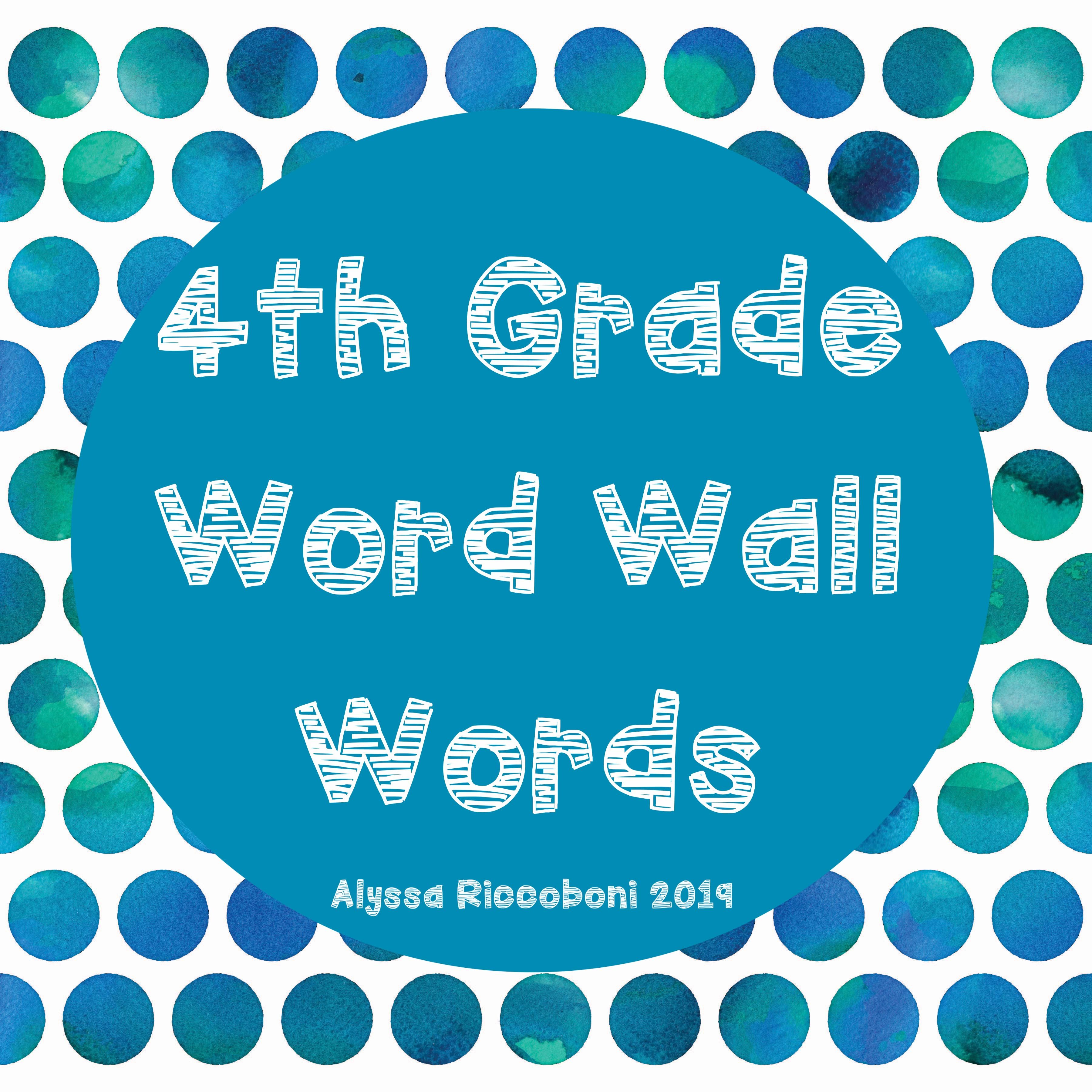 Every Elementary Classroom Has A Word Wall Implemented