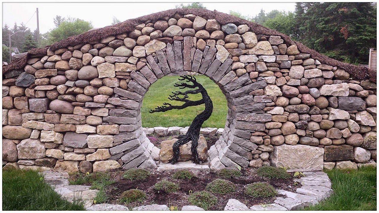Fabulous Amazing Stone Moongates Garden Design Ideas Garden
