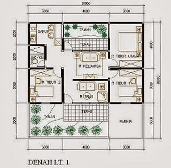Desain Rumah Minimalis Type 45 | Desain Rumah