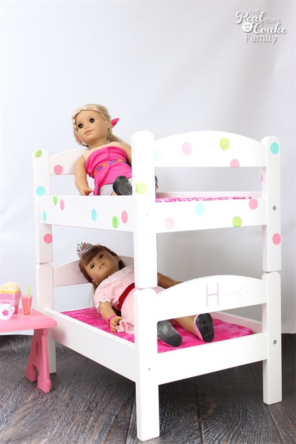Diy American Girl Doll Bunk Beds Dolls Girl Dolls Dolls