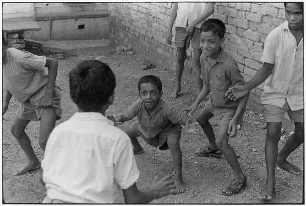Boys playing.. From Duke Digital Collections. Collection: William Gedney Photographs and Writings. Mark: Stamp. Date of print: 1974.