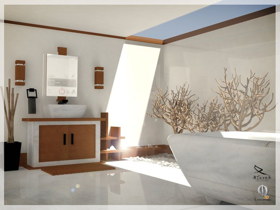 Bathroom Designs 2012 Awesome Rjuvn8 Bathroom Scene  Interior Design & Furniture  Pinterest Review