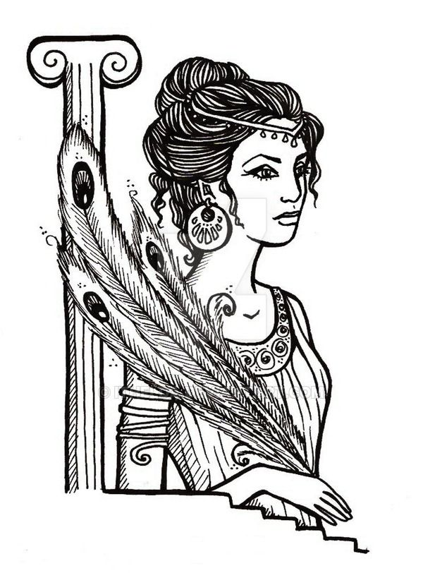 Hera Coloring Pages By Itheldadeviantart On DeviantArt
