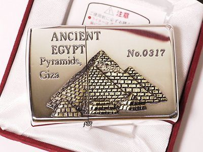 ZIPPO-1996-ANCIENT-EGYPT-PYRAMIDS-GIZA-LIMITED-EDITION-SUPER-RARE