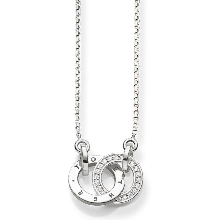 386ccb76584b Rutilante pavé de diamantes - Diseño atrevido - Unión eterna Unidos para  siempre  Los anillos entrelazados y adornados con distinguidos diamantes y  el ...