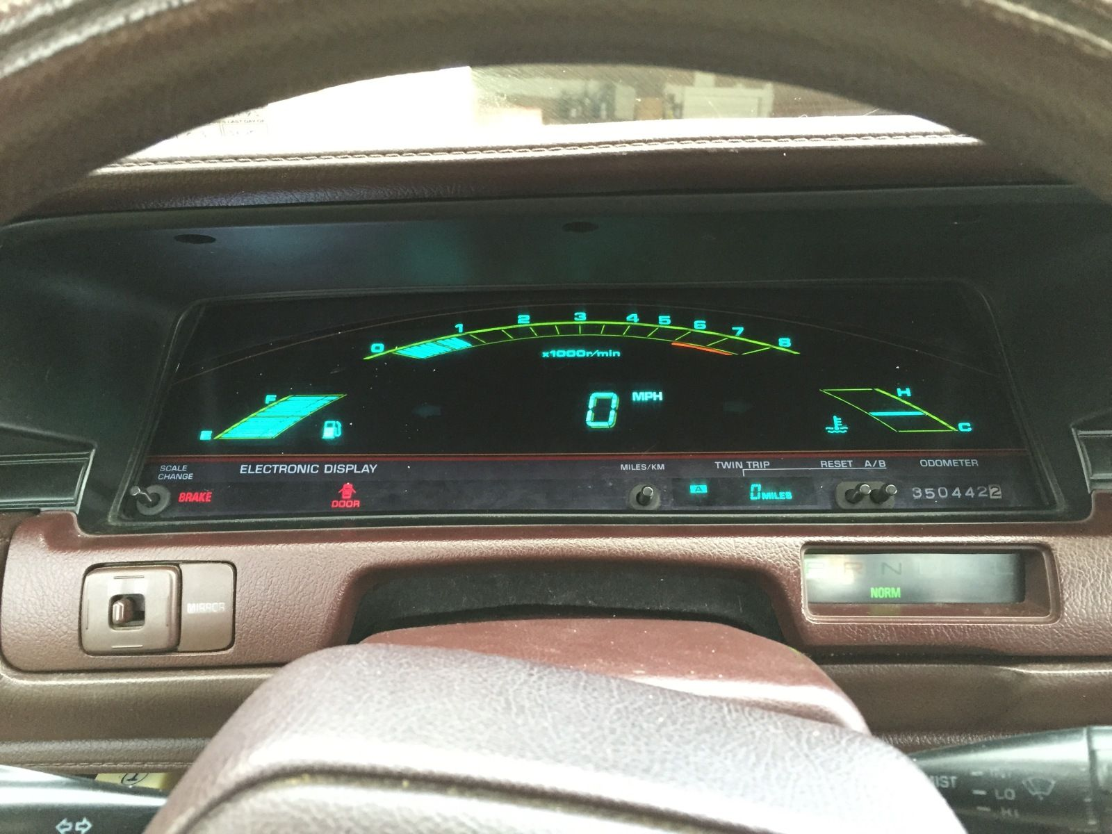 A C B Aed D B Fba on 1987 chevy truck digital dash gauges