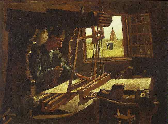 Vincent van Gogh: The Paintings (Weaver Near an Open Window) 1884