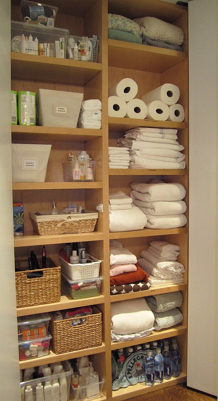 Even Martha Stewart Would Be Amazed By These Closets Linen