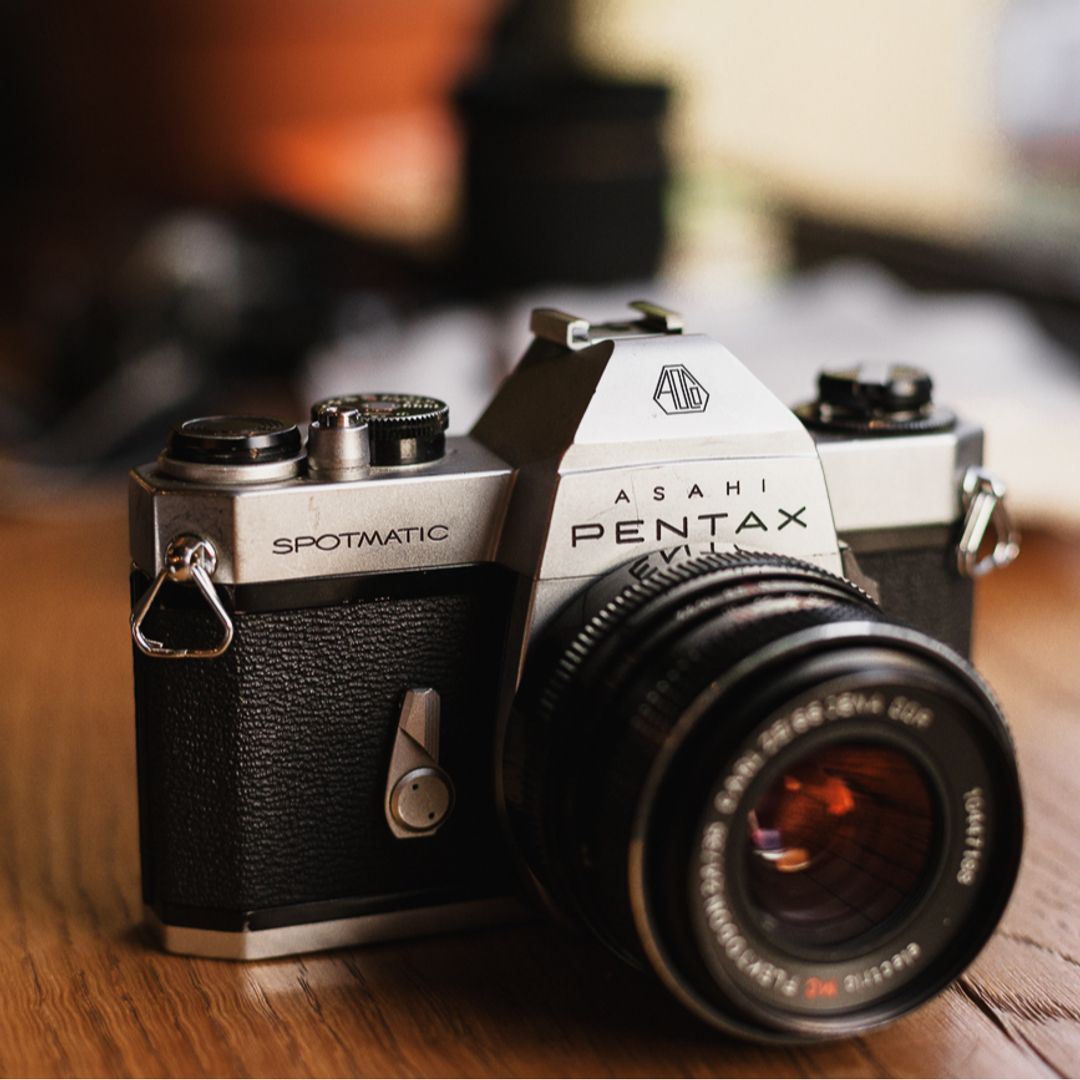 Asahi Pentax Spotmatic Sp Ii 35mm cámara SLR de película