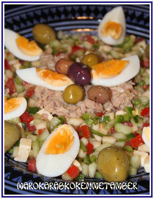 Tunesische tonijnsalade - 50plusser.nl