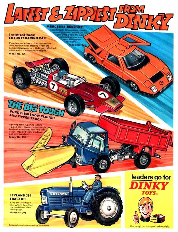 Dinky Toys Vintage Advertisement Vintage Advertising Vintage