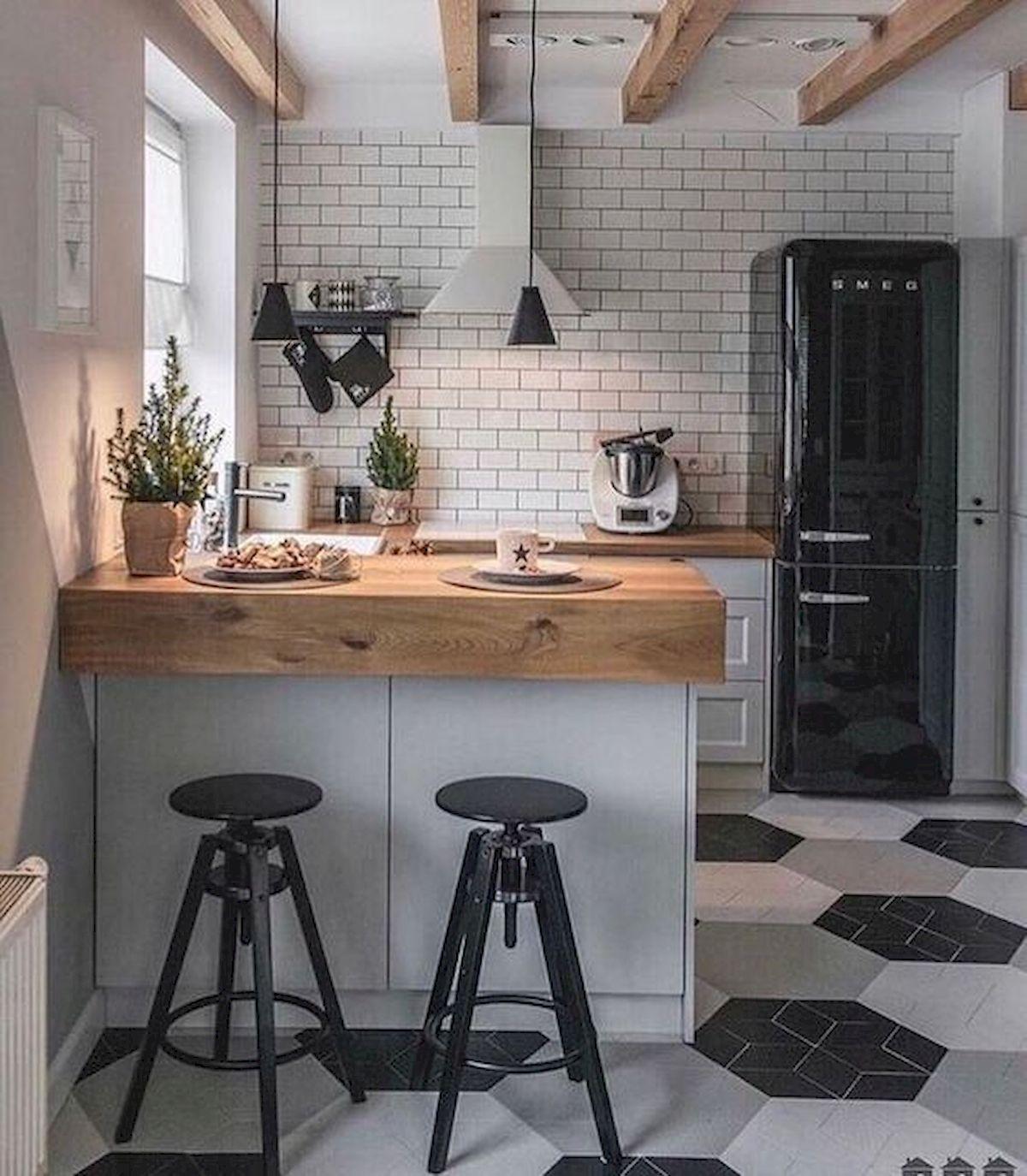 Gorgeous 90 Beautiful Small Kitchen Design Ideas Source Https Ideaboz Com 2019 01 18 90 Beaut Kitchen Remodel Small Kitchen Design Small Home Decor Kitchen