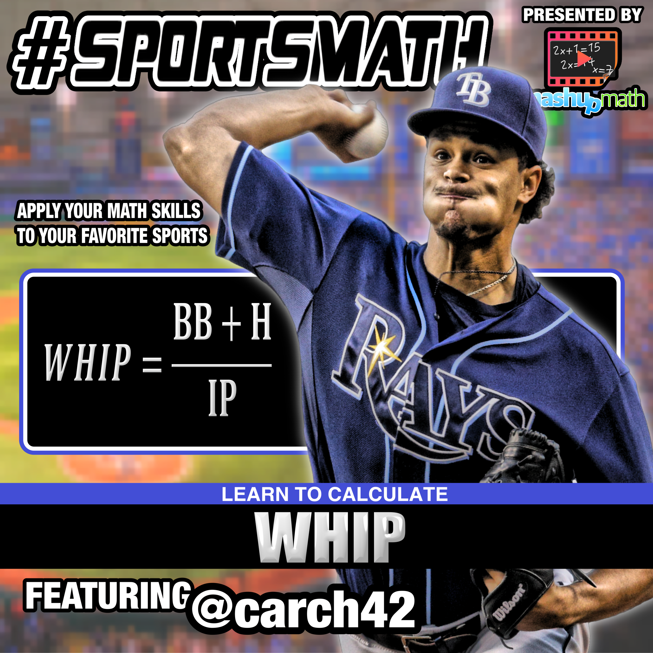 Use Your Math Skills To Calculate A Pitcher S Whip Which