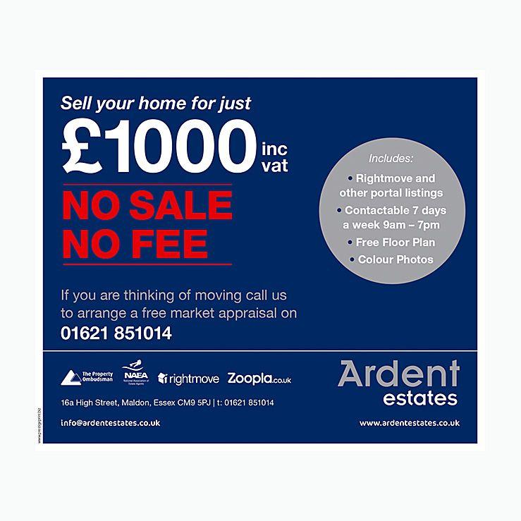 Discount fee estate agent leaflet design Estate Agents Leaflets