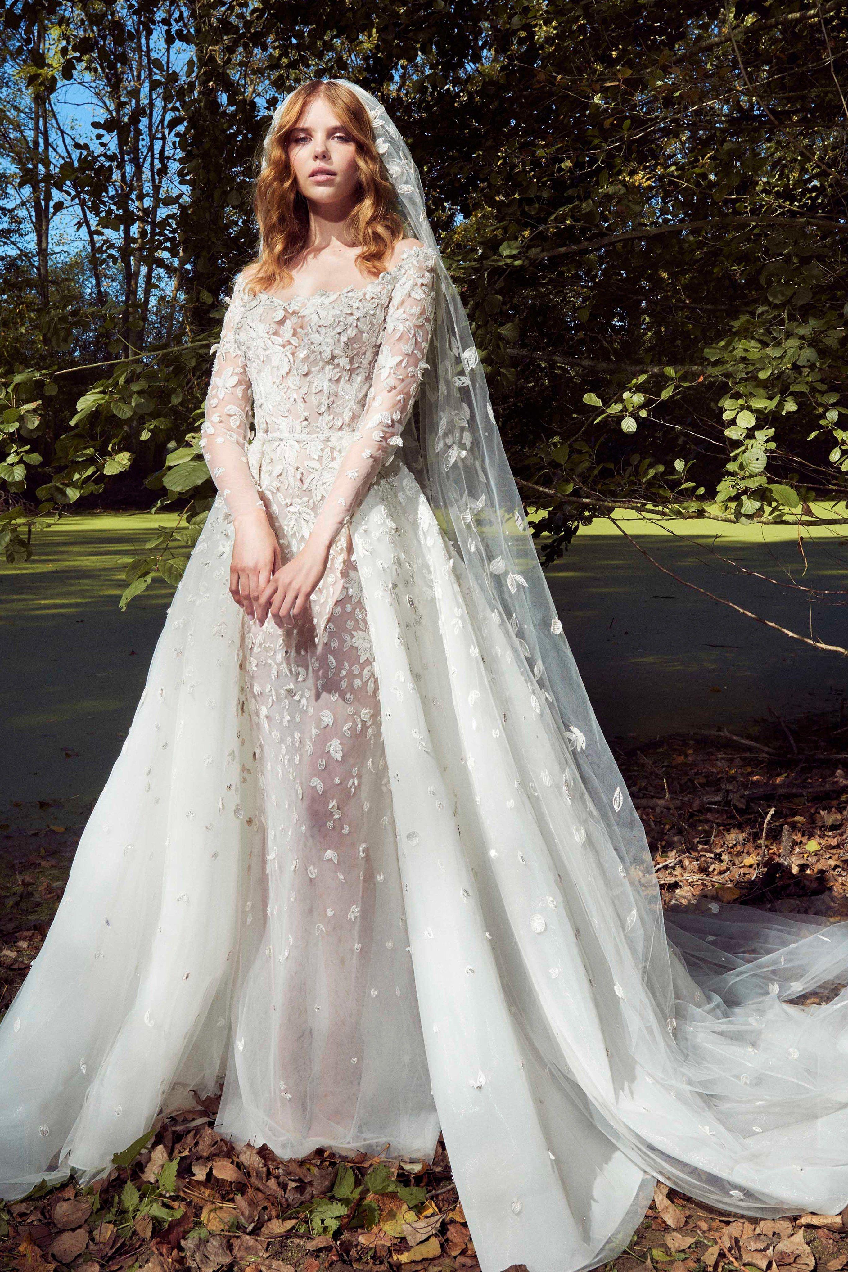 Zuhair murad bridal fall fashion show current fashion shows