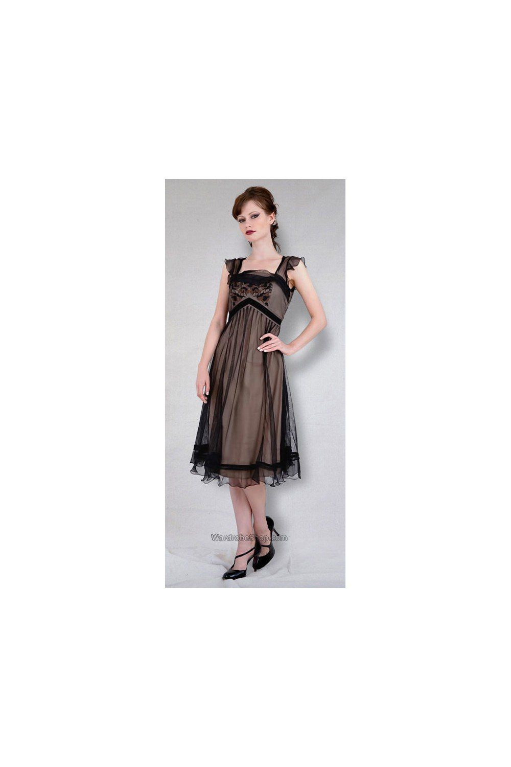 Vintage titanic tea party dress in rosegold by nataya sold out