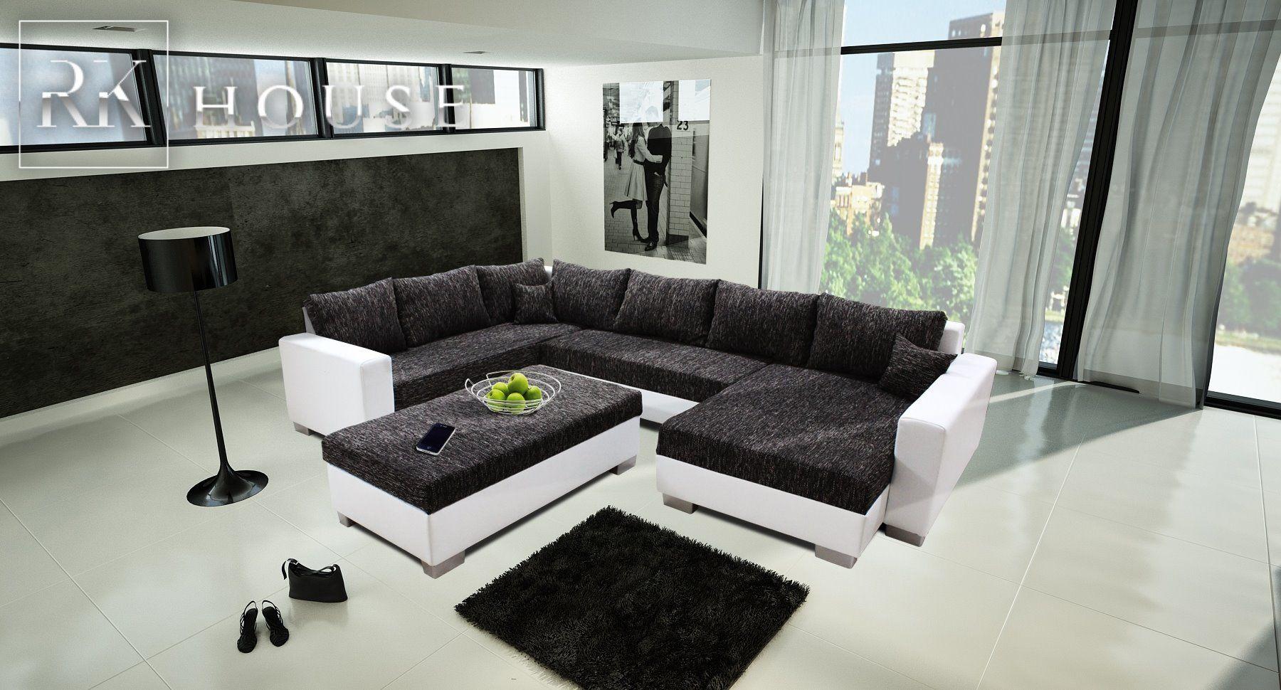 Ecksofa Neptun Bequem Stilvoll Und Effektvoll Mit Wellenunterfederung Im Sitz Eur 759 00 Eckosofa Mobel Sofa Sitz Ne Home Sectional Couch Home Decor