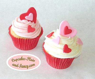 Valentineu0027s Day Cupcake Decorating Ideas | Valentines Hearts Cupcakes 1 Valentine  Cupcake Decorating Ideas