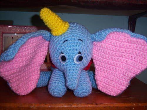Free Amigurumi Disney Patterns : All free crochet dolls patterns topic: #5 [dumbo doll] read 2835