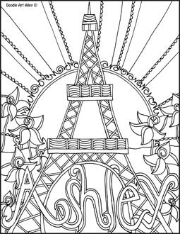 custom coloring pages 15