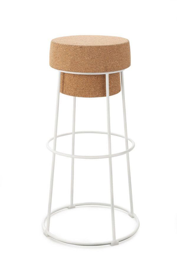 No Need To Pop Bottles When You Have The Bouchon Chair Design Milk Bar Stools High Stool Cork Stool