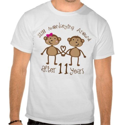 11th Wedding Anniversary Gifts T-Shirt
