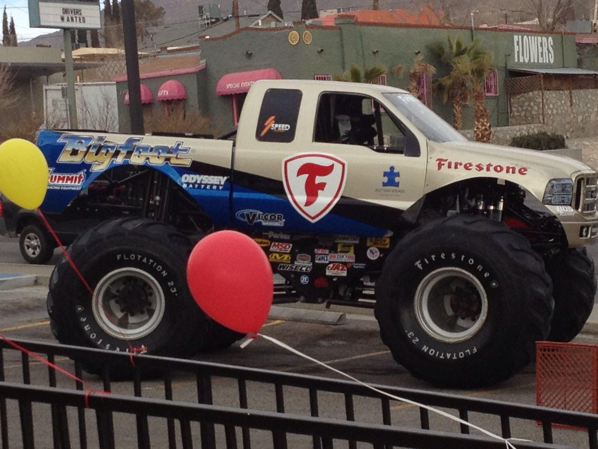 Firestone monster truck