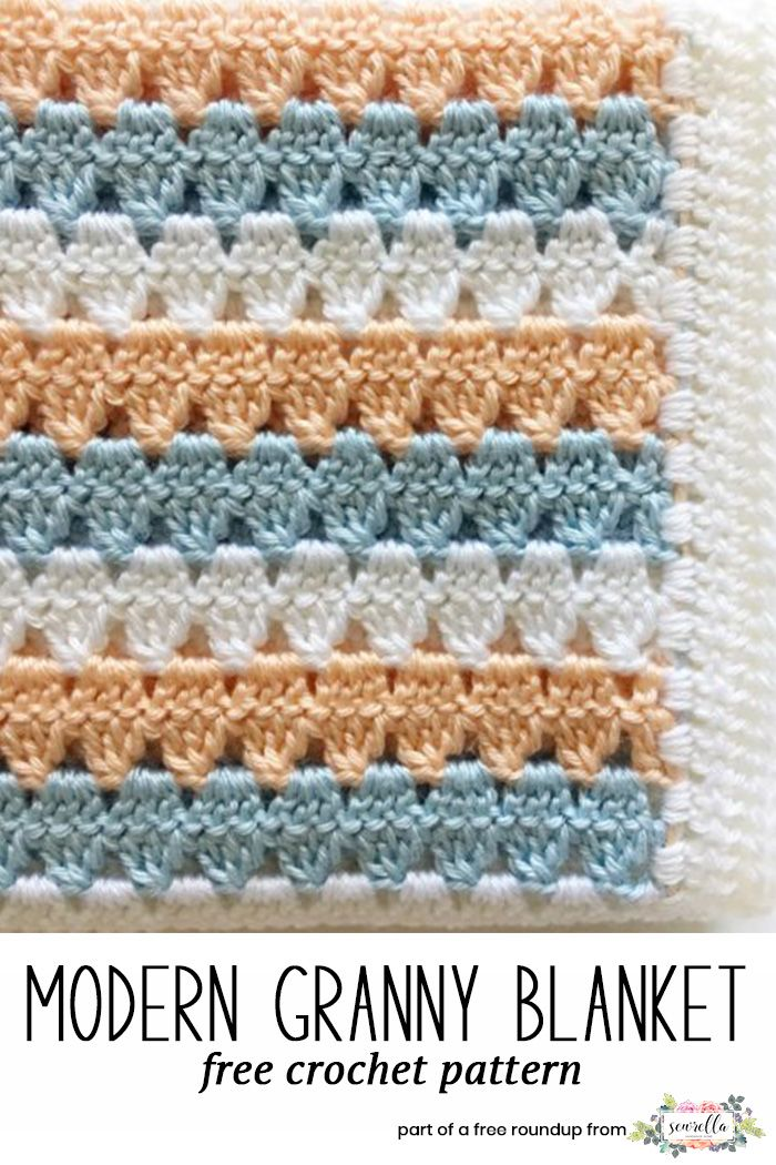 Gender Neutral Crochet Baby Blanket Roundup Pinterest Neutral