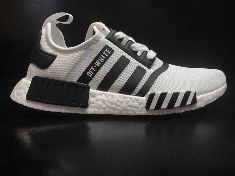 7f33c8427 Buy Men Adidas NMD R1 X OFF WHITE Grey White