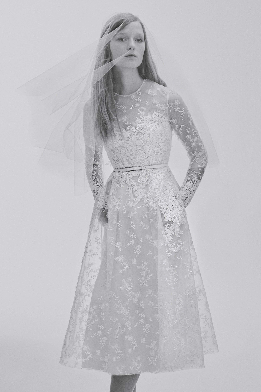 38f9d503330ff Elie Saab Bridal Spring 2017 Fashion Show | Little White Dresses ...