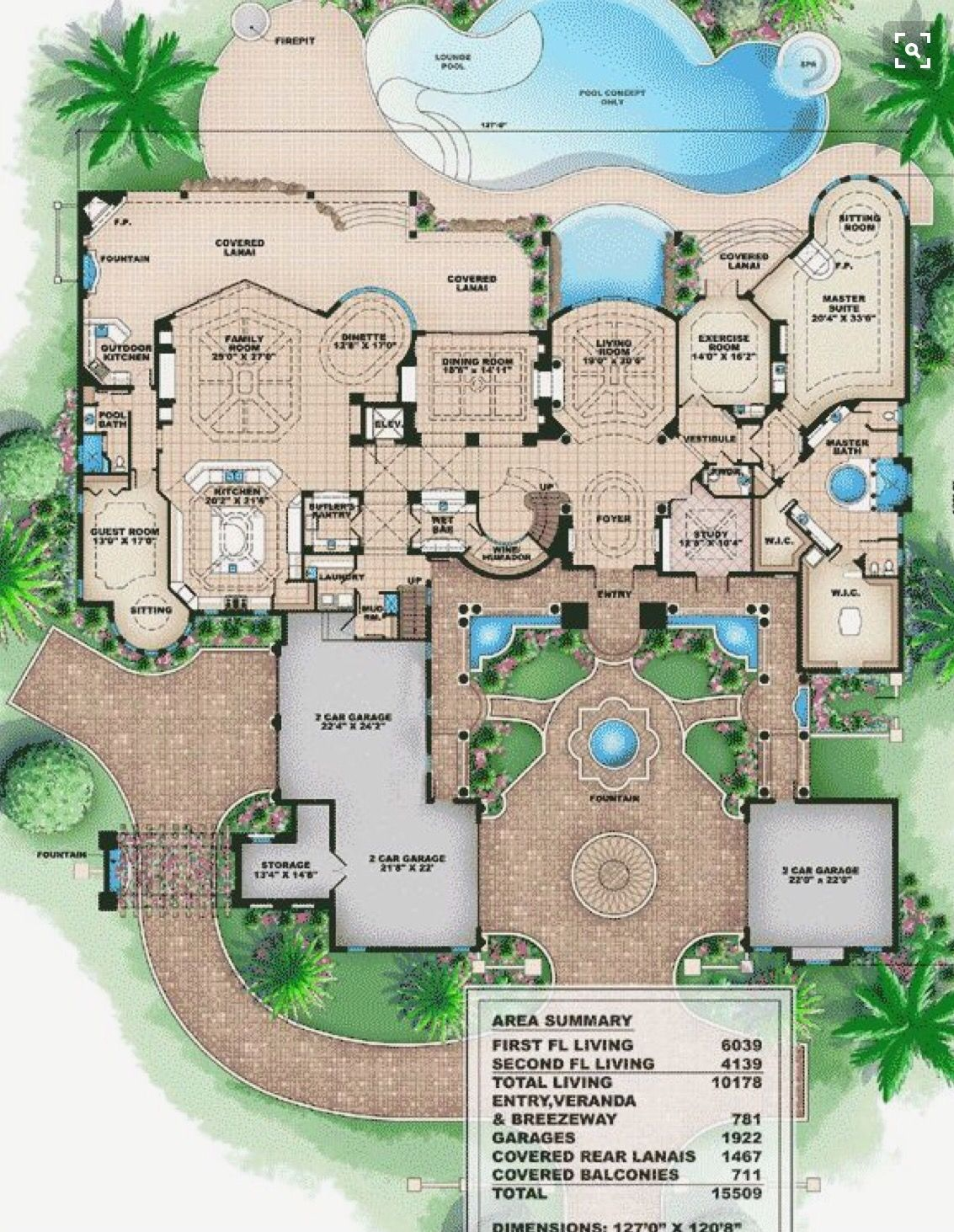Don T Need A 2nd Floor Mediterranean House Plans Luxury House Plans House Floor Plans