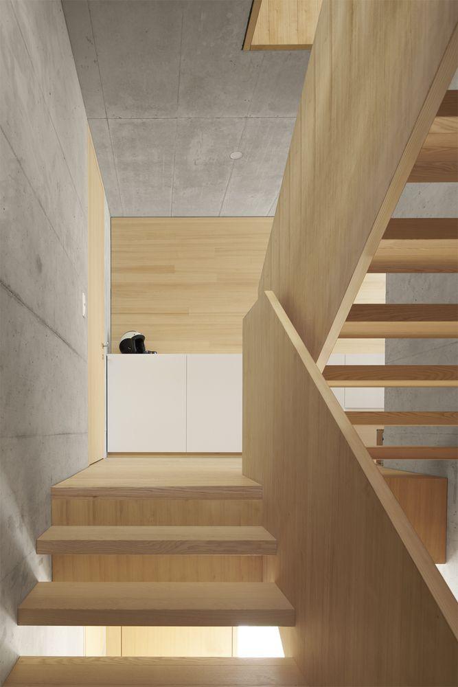 Gallery of House Bäumle   Bernardo Bader - 11 Escalera